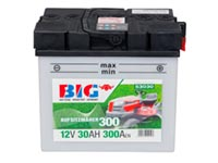 BIG Aufsitzmäher Batterie Y60-N30L-A - 12 V / 30 Ah